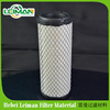 iron covering air filter, yellow filter paper, cylinder shape with wire mesh outer