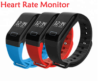 Health Fitness Tracker F1 Sleep Tracker Smart Bracelet Heart Rate Monitor Waterproof Smart Watch Activity Tracker for iPhone