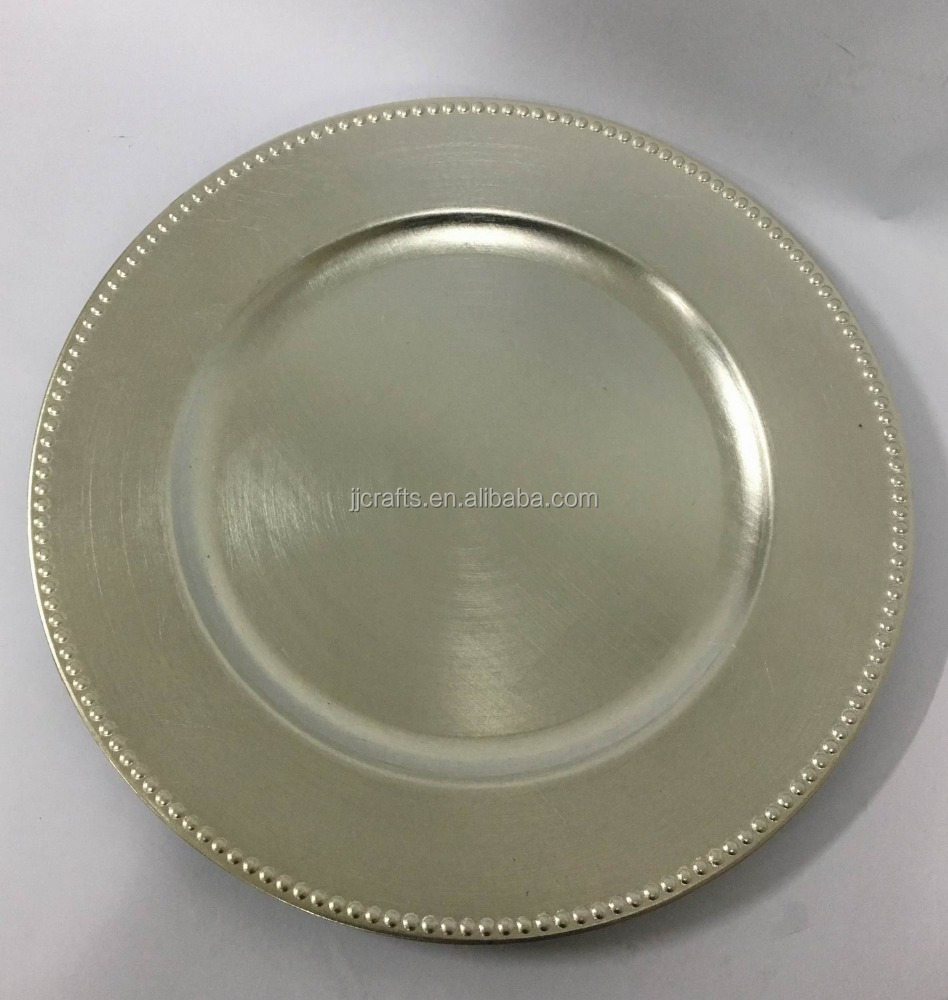 Decorative Cheap Gold Plastic Charger Plates Wholesale For Weddings Buy Plastic Plate Gold Charger Plate Plastic Plates Product On Alibaba Com