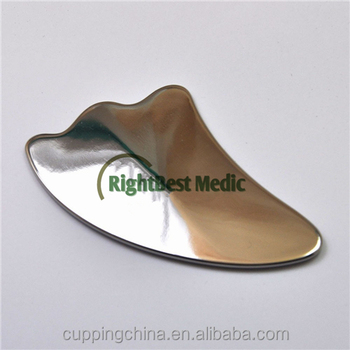 Stainless Steel Gua Sha Scraping Tools - Buy Gua Sha,Scraping,Massage  Product on Alibaba com