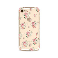 Fashion Transparent TPU UV Printing Flora Custom Phone Case Cover For iPhone X 6 7 8 Plus