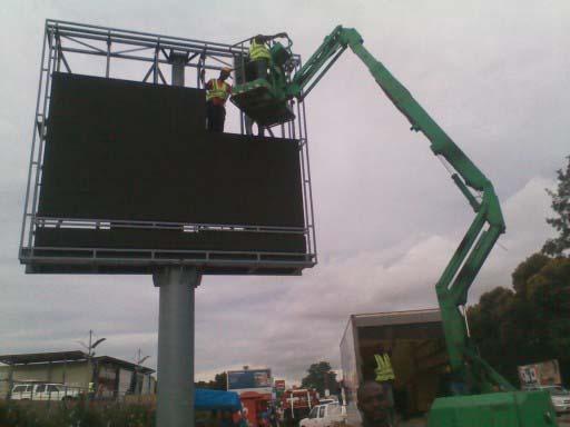 Outdoor Advertising Full Color Led Display Billboard/led Signage ...