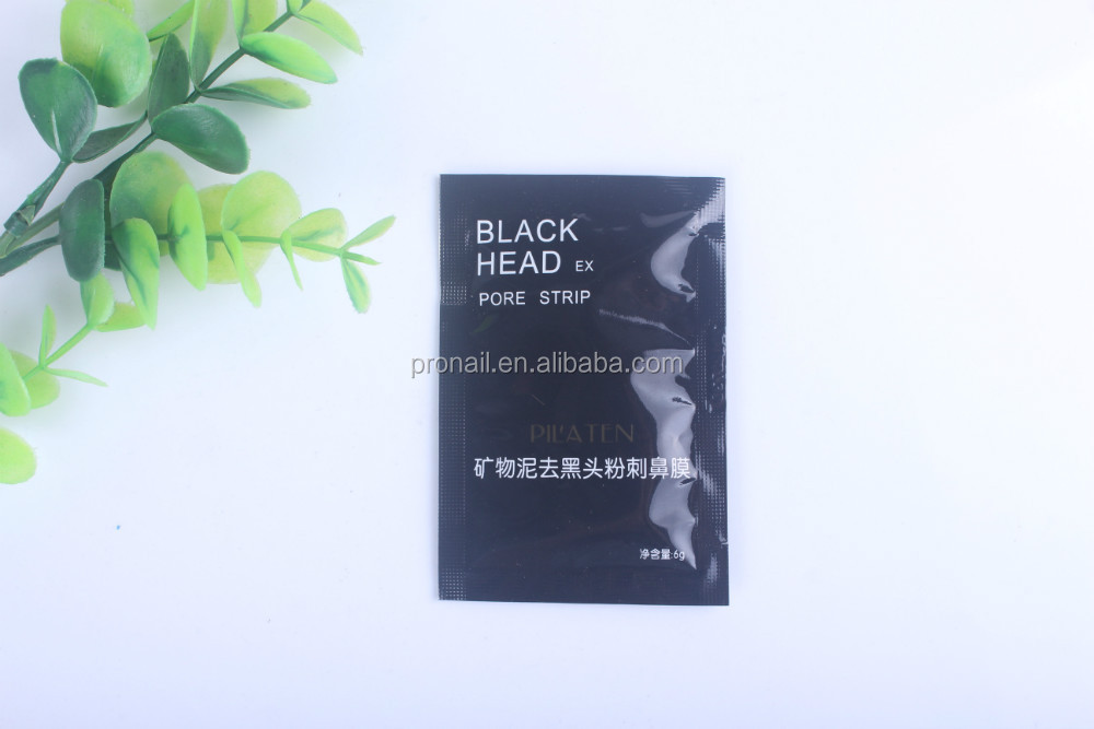 Freeshipping Pilaten Mineral Mud Black Nose Mask   Black Face Cleansing Mask