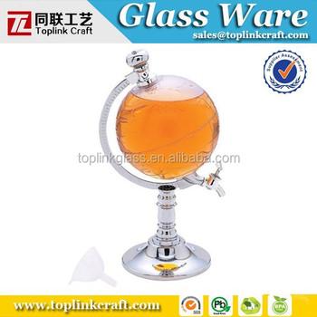 65oz wereld drank dispenser kristal wijn karaf dispenser buy product on - Karaf huiswijn wereld ...