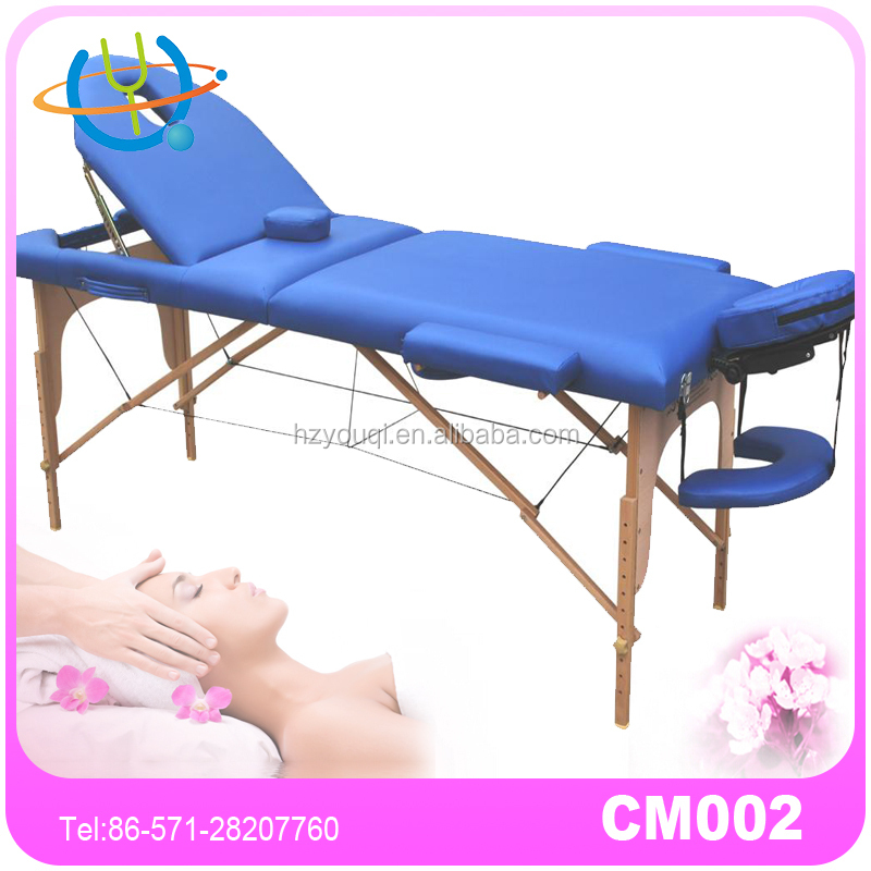New Concept 186x68cm Hydraul Wood Leisure Massage Table with Split Leg