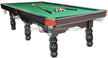 Billiards International Standard Pool Snooker Table Buy Slate Pool - How big is a standard pool table