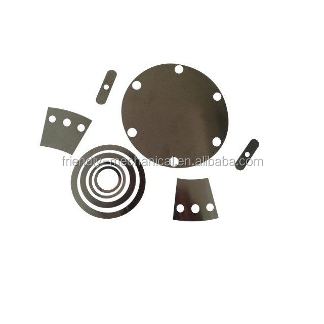 Customized Precision 0.01mm Thickness Thin Metal Shim and Washer