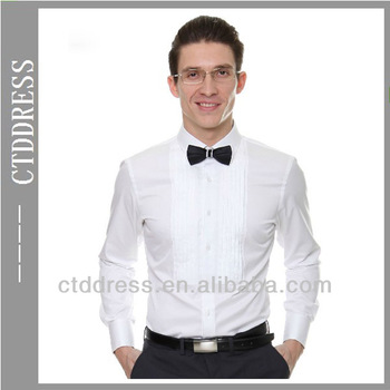 White Slim Fit Style Fashion Mens Wear 100 Cotton Made To Measure Groom Wedding Shirts