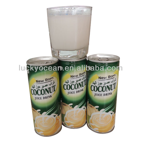 private label coco juices high protein drink