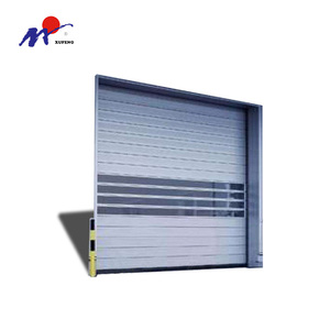 China Metal Rapid Steel Turbine Rolling Door
