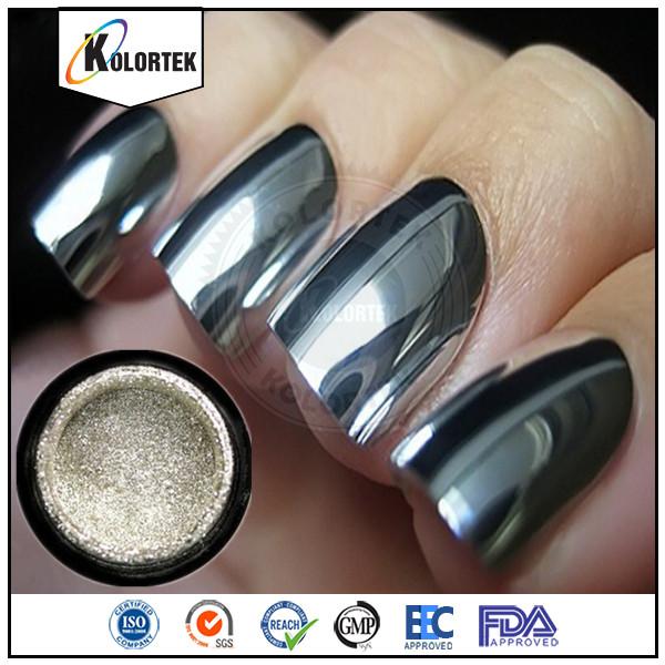 spiegel chrome effekt pulver n gel aluminium silber pigment f r nagellack china lieferant. Black Bedroom Furniture Sets. Home Design Ideas