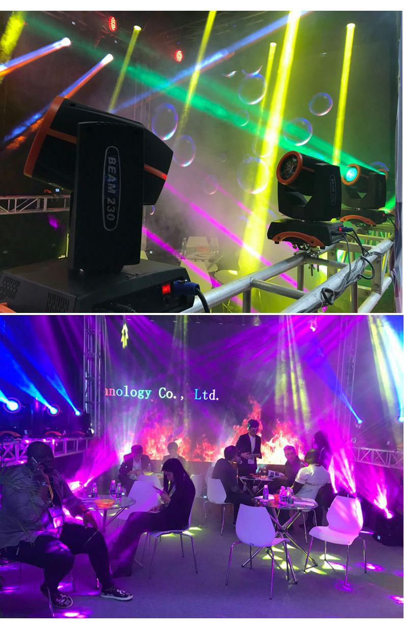 Factory Directly 230W Led Follow Spot Light Wedding Spot Led