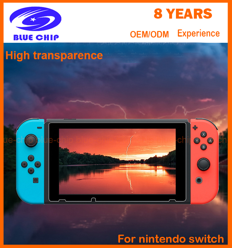 Tempered glass screen protector manufacturer for Nintendo Switch glass tempered screen protector