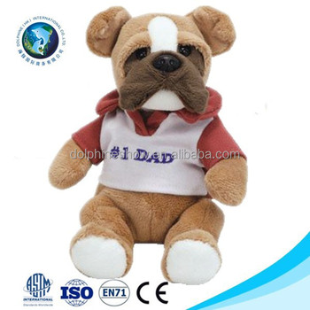 French Bulldog Soft Toy With T Shirt Cute Promotional Bulldog Puppy