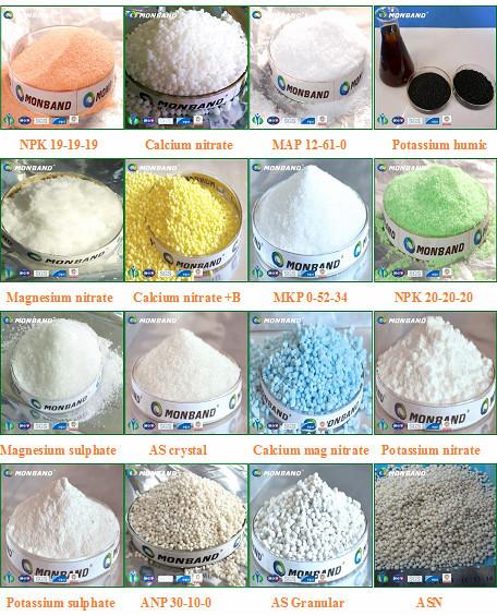 Iso Certificate Granular Calcium Ammonium Nitrate Fertilizer