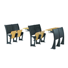 School furniture classroom chair folding school desk for university students
