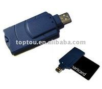 USB single slot smargo smart card reader for digital TV receiver