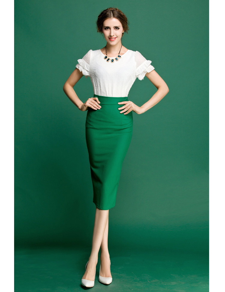 High Wasted Pencil Skirt Jill Dress
