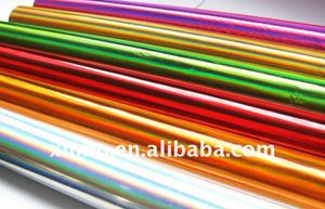 Hot stamping foil for paper, plastic ,textile etc