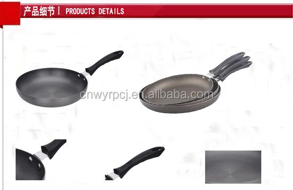 Teflon Coating Aluminum Hard Anodized Fry Pan Buy Hard