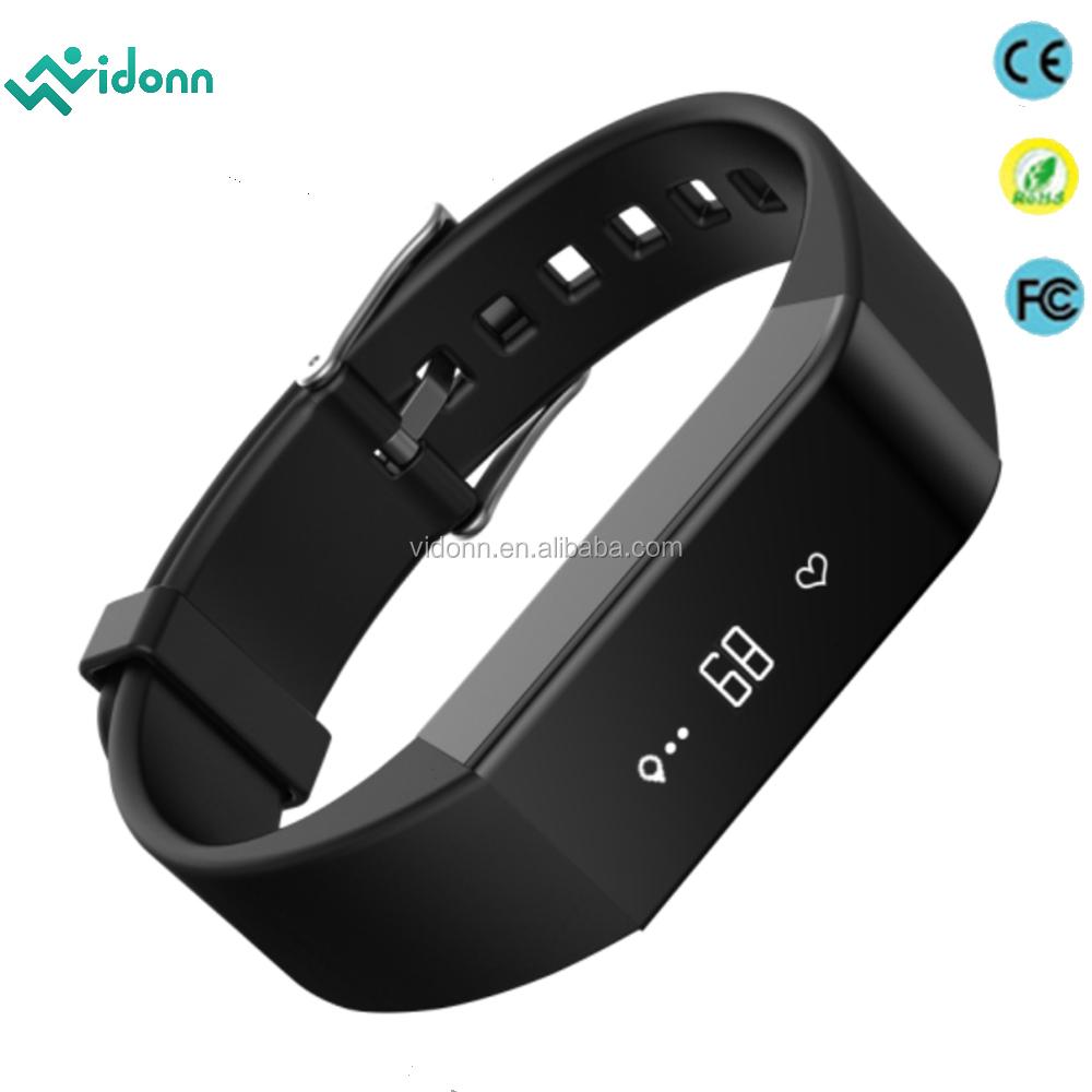 Customized 2016 Smart Wearable Waterproof Bluetooth 4.0 Heart Rate ...