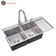 Professional Commercial Handmade Utility Vegetable Washing Sink