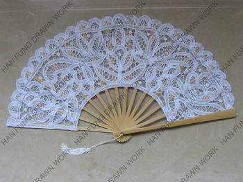 High Quality Wedding Folding Fans By Battenburg Lace - Buy Wedding Folding  Fans,Wedding Lace Hand Fans,Lace Fabric Folding Fan Product on Alibaba com
