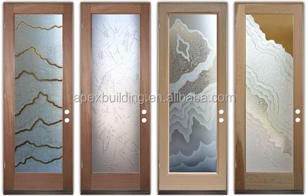 36 Inch Teak Wood Double Front Mother And Son Door Design