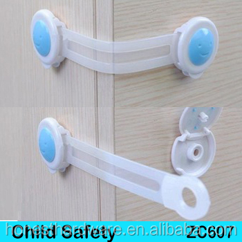 Cupboard Door Drawers Security Safety Locks latches For Child Kids Toddler/adjustable baby safety drawer lock