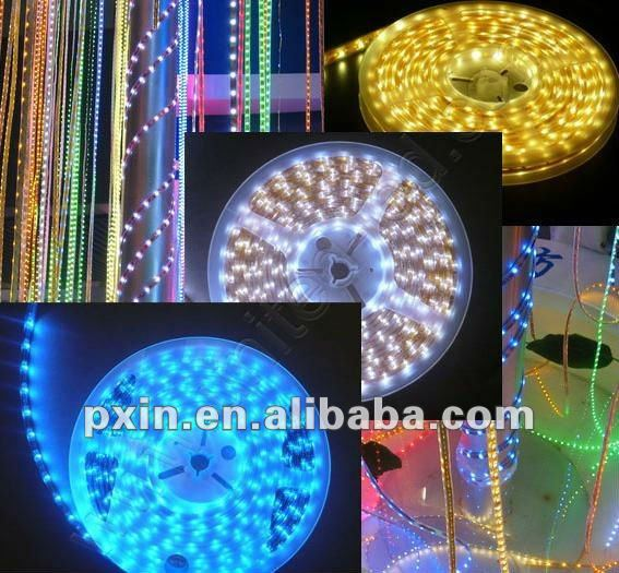 Hight brightness Flexible decorate led RGB strip5050 3528
