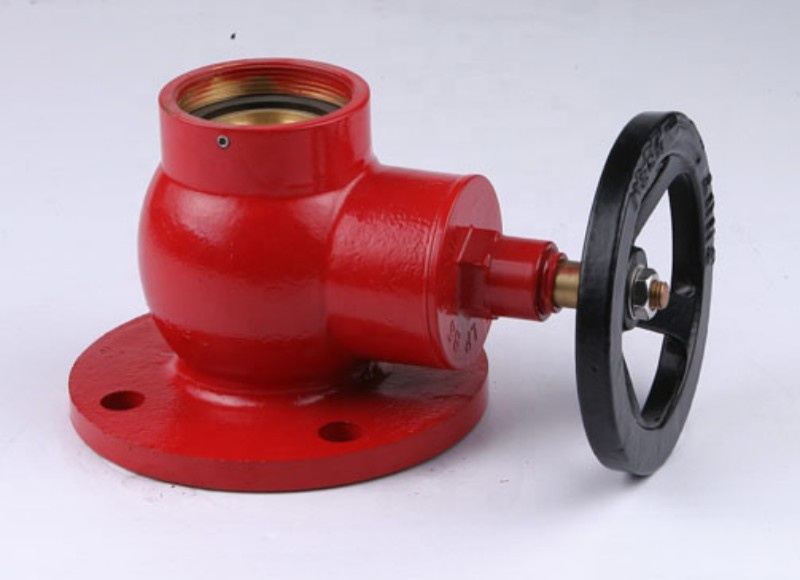 Cast iron Brass Indoor Outdoor types of Fire Hydrant Landing Valve for Fire Fighting