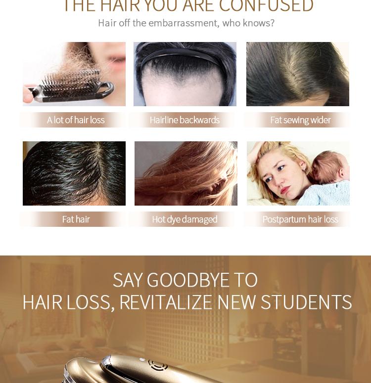 Beperfect OEM scalp massager shampoo brush for hair regrowth