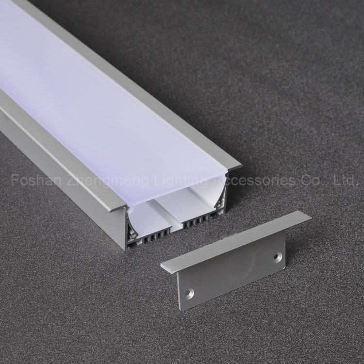 Aluminium Led Profile Rectangular Recessed Ceiling Lights View Aluminum Zhengmeng Product Details From Foshan Lighting