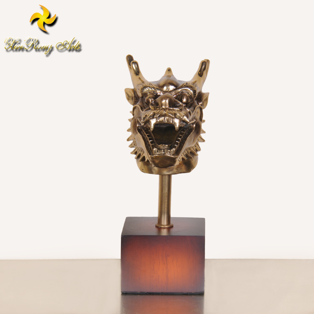 Bronze dragon statues chinses Twelve zodiac brass animal statues