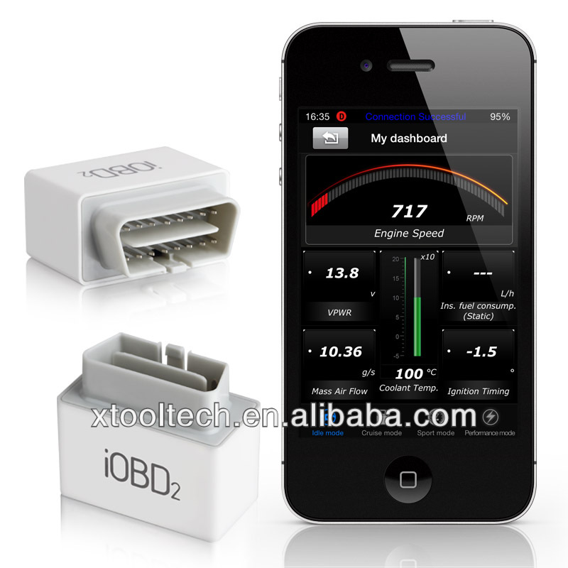 iOBD2 obd2 wifi car scanner iPhone&Android for obd2/eobd compliant cars