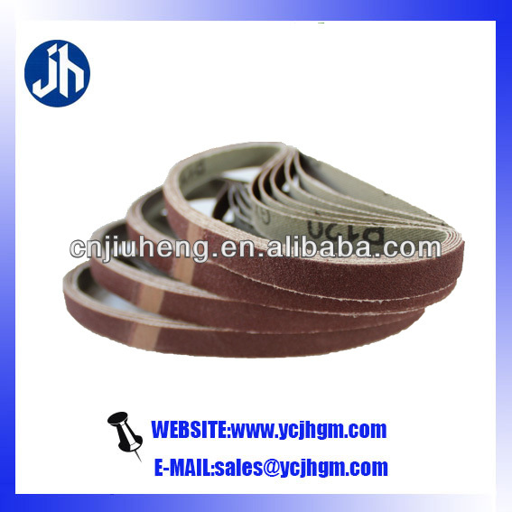 polishing machine abrasive belt for paint removal