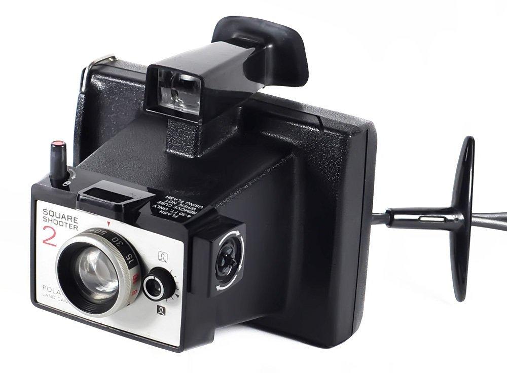 Nice Vintage Polaroid Square Shooter 2 Land Camera Instant Film Camera