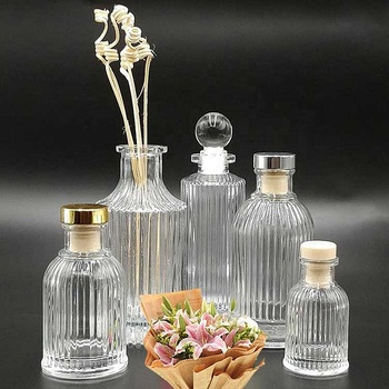 Luxury reed diffuser glass bottle 200ml
