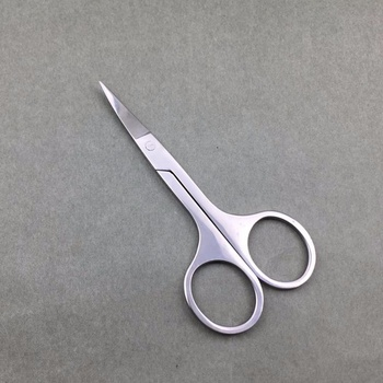 For Sale Curved Nail Scissors Beauty Eyebrow Scissors