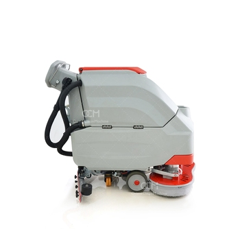 V6 Battery Powered Floor Scrubbing Polishing Machine Hand Held Electric Scrubber
