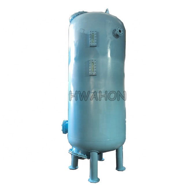 Industrial stainless steel pressure sand filter tanks sand / activated carbon filter media for <strong>water</strong> <strong>treatment</strong>