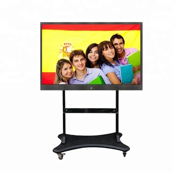 75 inch lcd interactieve touch screen board/smart elektronische white board ondersteuning tien punten touch
