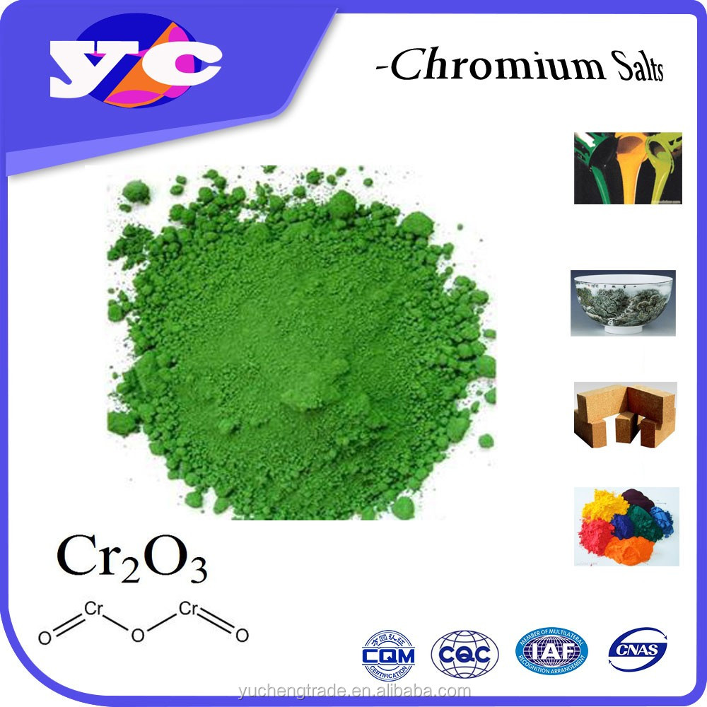Best Selling wall paint house painting chrome oxide green 99.3%