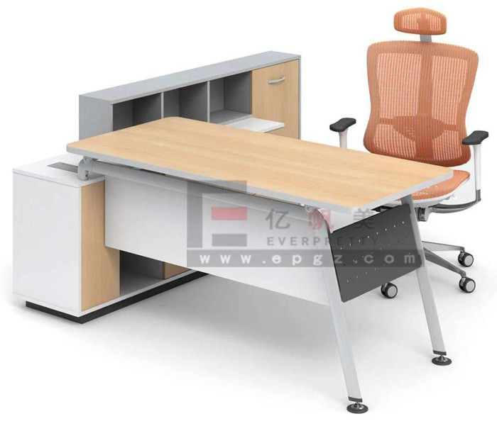 High Quality Single Furniture Office Table With Moving