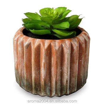 Concrete Succulents Planter Clay