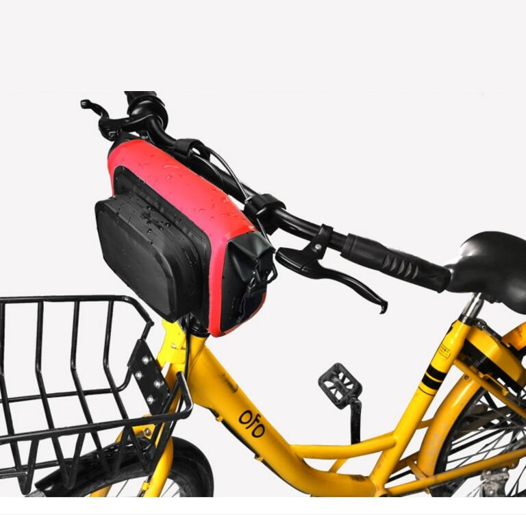Customized Bicycle Accessory Riding Bike Frame Front Tube Transport Handlebar Bicycle Bag