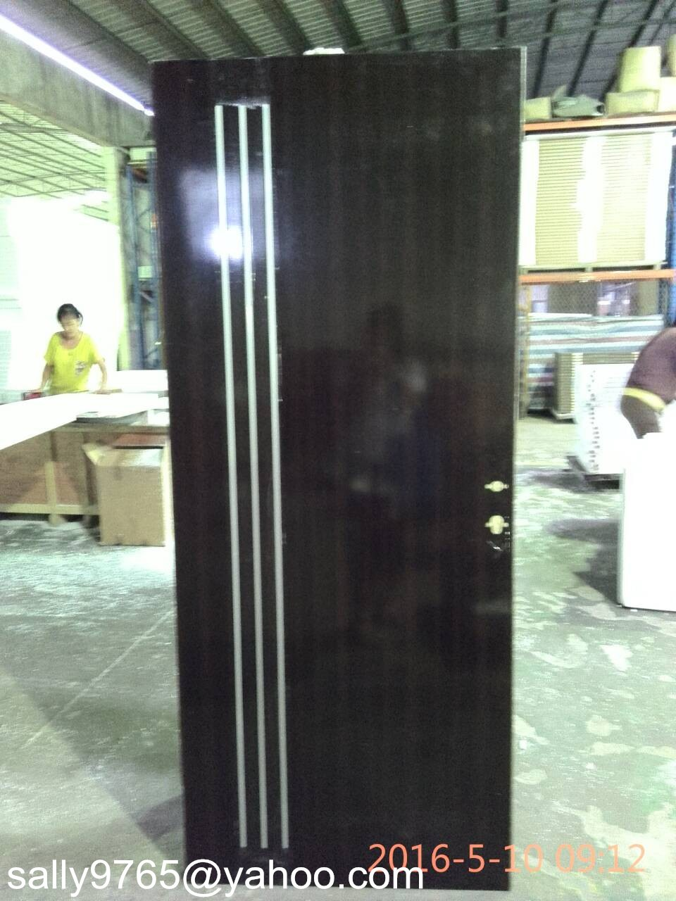 Israel Galvanized Steel Door Base Flush Door