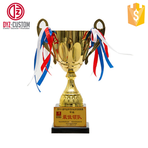 Custom metal gold sport trophy cup High-end metal trophy cup trophies