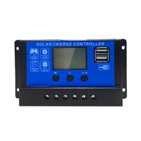 Wholesale custom 12v 24v 36v 48v 10a 20a 30a 50a 100a charger manual pwm solar charge controller
