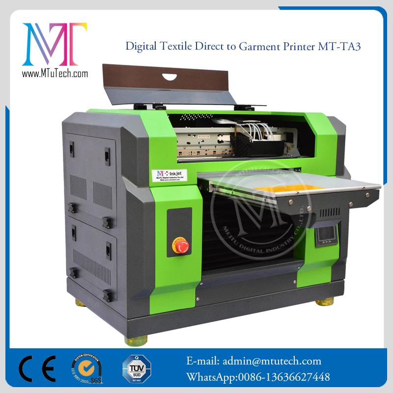 MT Digital for Fabric Two DX5 Heads bed sheets printing machine